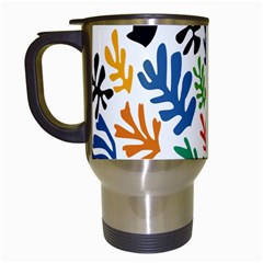 The Wreath Matisse Beauty Rainbow Color Sea Beach Travel Mugs (white) by Mariart