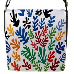 The Wreath Matisse Beauty Rainbow Color Sea Beach Flap Messenger Bag (s) by Mariart