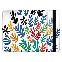 The Wreath Matisse Beauty Rainbow Color Sea Beach Samsung Galaxy Tab Pro 12 2  Flip Case by Mariart