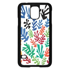 The Wreath Matisse Beauty Rainbow Color Sea Beach Samsung Galaxy S5 Case (black) by Mariart