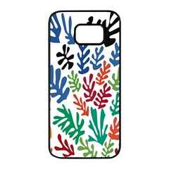 The Wreath Matisse Beauty Rainbow Color Sea Beach Samsung Galaxy S7 Edge Black Seamless Case by Mariart