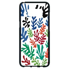 The Wreath Matisse Beauty Rainbow Color Sea Beach Samsung Galaxy S8 Black Seamless Case