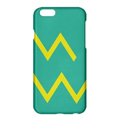 Waves Chevron Wave Green Yellow Sign Apple Iphone 6 Plus/6s Plus Hardshell Case by Mariart