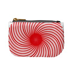Spiral Red Polka Star Mini Coin Purses