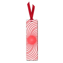 Spiral Red Polka Star Small Book Marks by Mariart