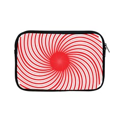 Spiral Red Polka Star Apple Ipad Mini Zipper Cases by Mariart