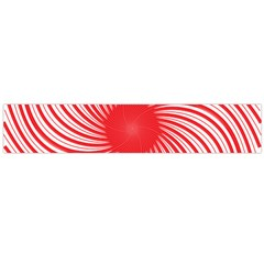 Spiral Red Polka Star Flano Scarf (large) by Mariart