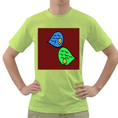 Version Colors Transparent Elements Emoticons Alpha Transparency Green T Shirt by Mariart