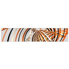 Splines Line Circle Brown Flano Scarf (small) by Mariart