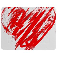 Valentines Day Heart Modern Red Polka Jigsaw Puzzle Photo Stand (rectangular) by Mariart