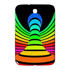 Twisted Motion Rainbow Colors Line Wave Chevron Waves Samsung Galaxy Note 8 0 N5100 Hardshell Case  by Mariart