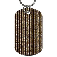 Mosaic Pattern 1 Dog Tag (two Sides) by tarastyle