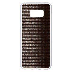 Mosaic Pattern 1 Samsung Galaxy S8 Plus White Seamless Case by tarastyle