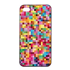 Mosaic Pattern 2 Apple Iphone 4/4s Seamless Case (black) by tarastyle