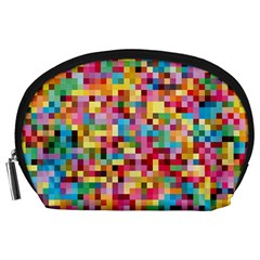 Mosaic Pattern 2 Accessory Pouches (large)  by tarastyle