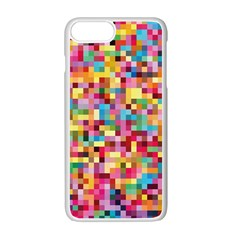Mosaic Pattern 2 Apple Iphone 7 Plus White Seamless Case by tarastyle
