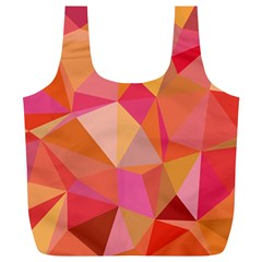 Mosaic Pattern 3 Full Print Recycle Bags (l)  by tarastyle