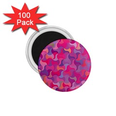 Mosaic Pattern 4 1 75  Magnets (100 Pack)  by tarastyle