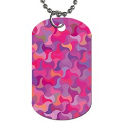 Mosaic Pattern 4 Dog Tag (two Sides) by tarastyle