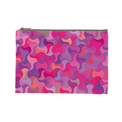 Mosaic Pattern 4 Cosmetic Bag (large)  by tarastyle