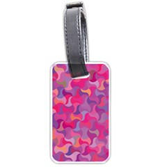 Mosaic Pattern 4 Luggage Tags (one Side)  by tarastyle