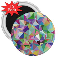 Mosaic Pattern 5 3  Magnets (10 Pack)  by tarastyle