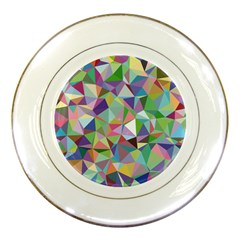 Mosaic Pattern 5 Porcelain Plates by tarastyle
