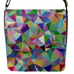 Mosaic Pattern 5 Flap Messenger Bag (s) by tarastyle