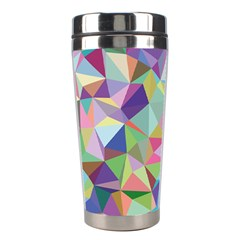 Mosaic Pattern 5 Stainless Steel Travel Tumblers by tarastyle