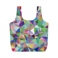 Mosaic Pattern 5 Full Print Recycle Bags (m)  by tarastyle
