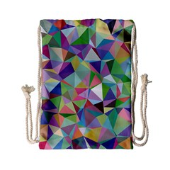 Mosaic Pattern 5 Drawstring Bag (small) by tarastyle