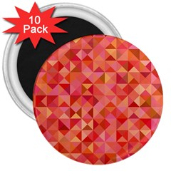 Mosaic Pattern 6 3  Magnets (10 Pack)  by tarastyle