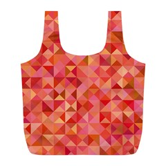 Mosaic Pattern 6 Full Print Recycle Bags (l)  by tarastyle