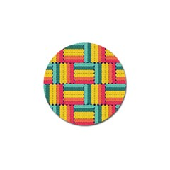 Soft Spheres Pattern Golf Ball Marker (4 Pack) by linceazul
