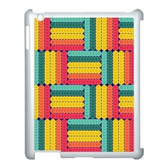Soft Spheres Pattern Apple Ipad 3/4 Case (white) by linceazul