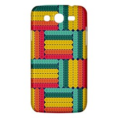 Soft Spheres Pattern Samsung Galaxy Mega 5 8 I9152 Hardshell Case  by linceazul
