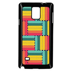 Soft Spheres Pattern Samsung Galaxy Note 4 Case (black) by linceazul