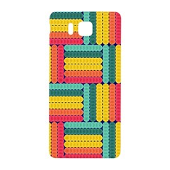 Soft Spheres Pattern Samsung Galaxy Alpha Hardshell Back Case by linceazul