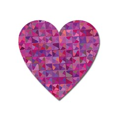 Mosaic Pattern 7 Heart Magnet by tarastyle