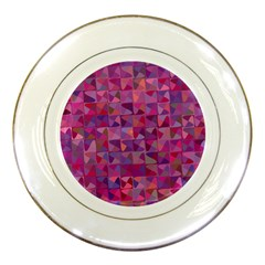 Mosaic Pattern 7 Porcelain Plates by tarastyle