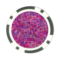 Mosaic Pattern 7 Poker Chip Card Guard by tarastyle