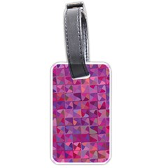 Mosaic Pattern 7 Luggage Tags (one Side)  by tarastyle