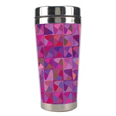 Mosaic Pattern 7 Stainless Steel Travel Tumblers by tarastyle