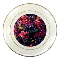 Mosaic Pattern 8 Porcelain Plates by tarastyle