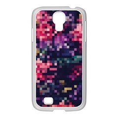 Mosaic Pattern 8 Samsung Galaxy S4 I9500/ I9505 Case (white) by tarastyle