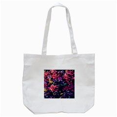 Mosaic Pattern 8 Tote Bag (white) by tarastyle