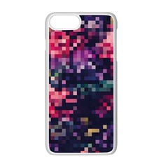 Mosaic Pattern 8 Apple Iphone 7 Plus White Seamless Case by tarastyle