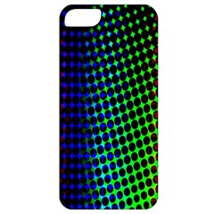 Digitally Created Halftone Dots Abstract Background Design Apple Iphone 5 Classic Hardshell Case