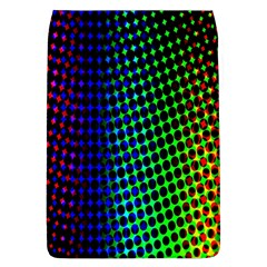Digitally Created Halftone Dots Abstract Background Design Flap Covers (l)