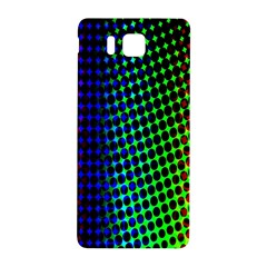 Digitally Created Halftone Dots Abstract Background Design Samsung Galaxy Alpha Hardshell Back Case by Nexatart